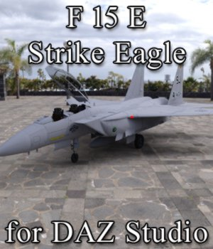 F 15E Strike Eagle for DAZ Studio 3D Models Digimation_ModelBank