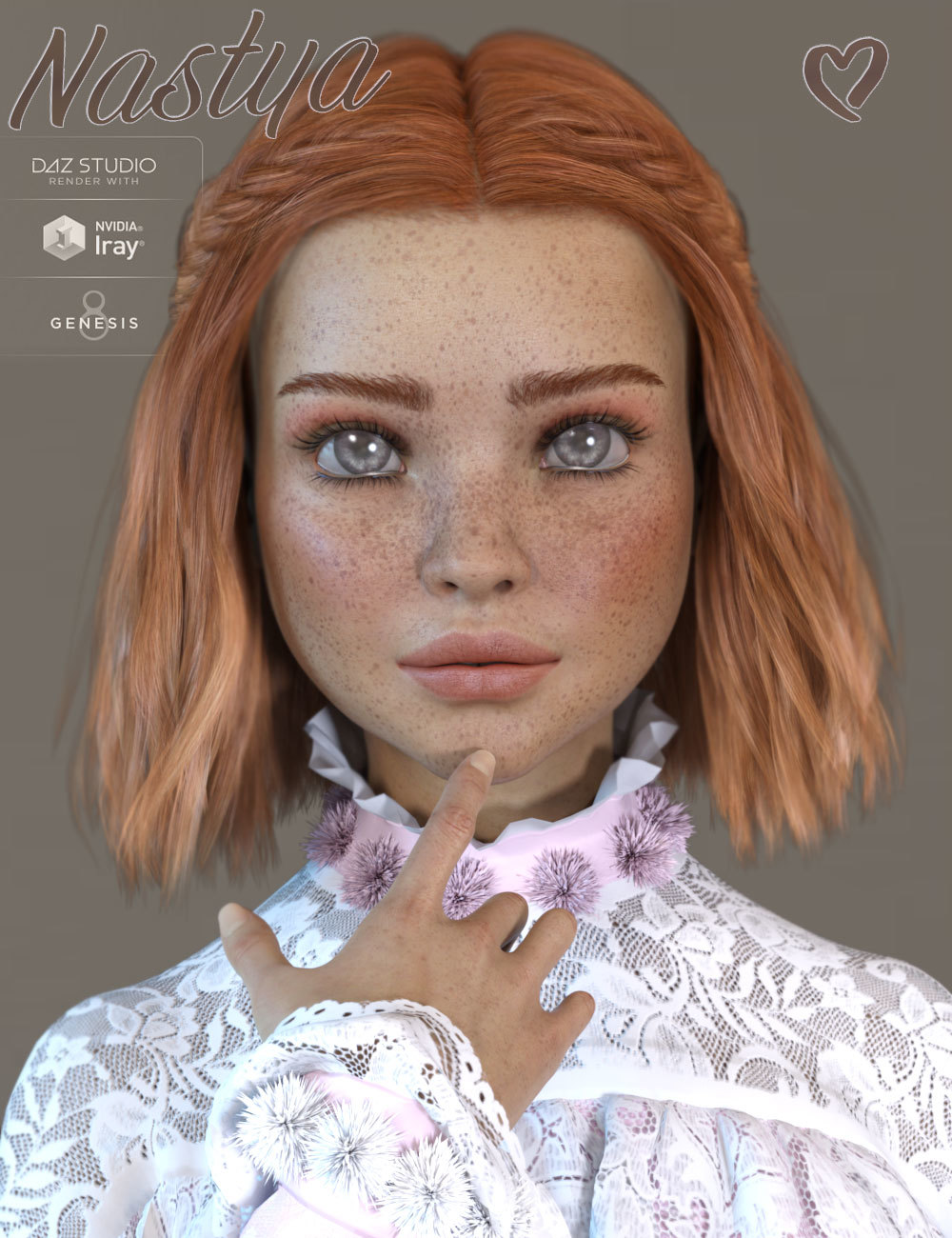 TDT-Nastya for Genesis 8 Female