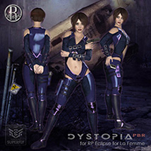 Dystopia PBR for RP Eclipse for La Femme image 1