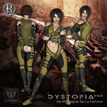 Dystopia PBR for RP Eclipse for La Femme image 3