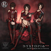 Dystopia PBR for RP Eclipse for La Femme image 4