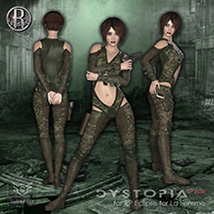 Dystopia PBR for RP Eclipse for La Femme image 5