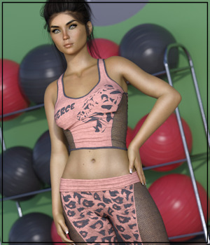 7th Ave: Yoga Clothing for Genesis 8 Female  3D Figure Assets 3-DArena