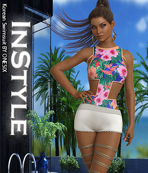 InStyle - Korean Swimsuit 3D Figure Assets -Valkyrie-