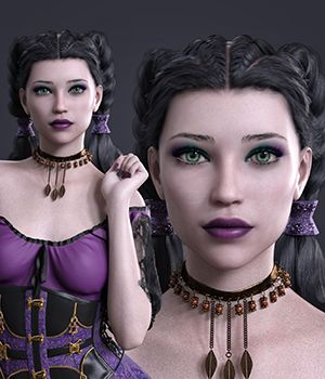 MbM Davina for Genesis 3 & 8 Female 3D Figure Assets Heatherlly