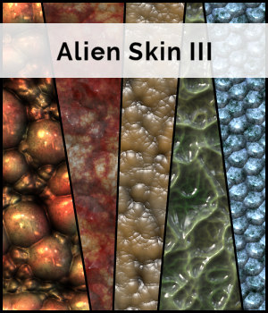 STG Alien Skin III 2D Graphics Merchant Resources Stargazy
