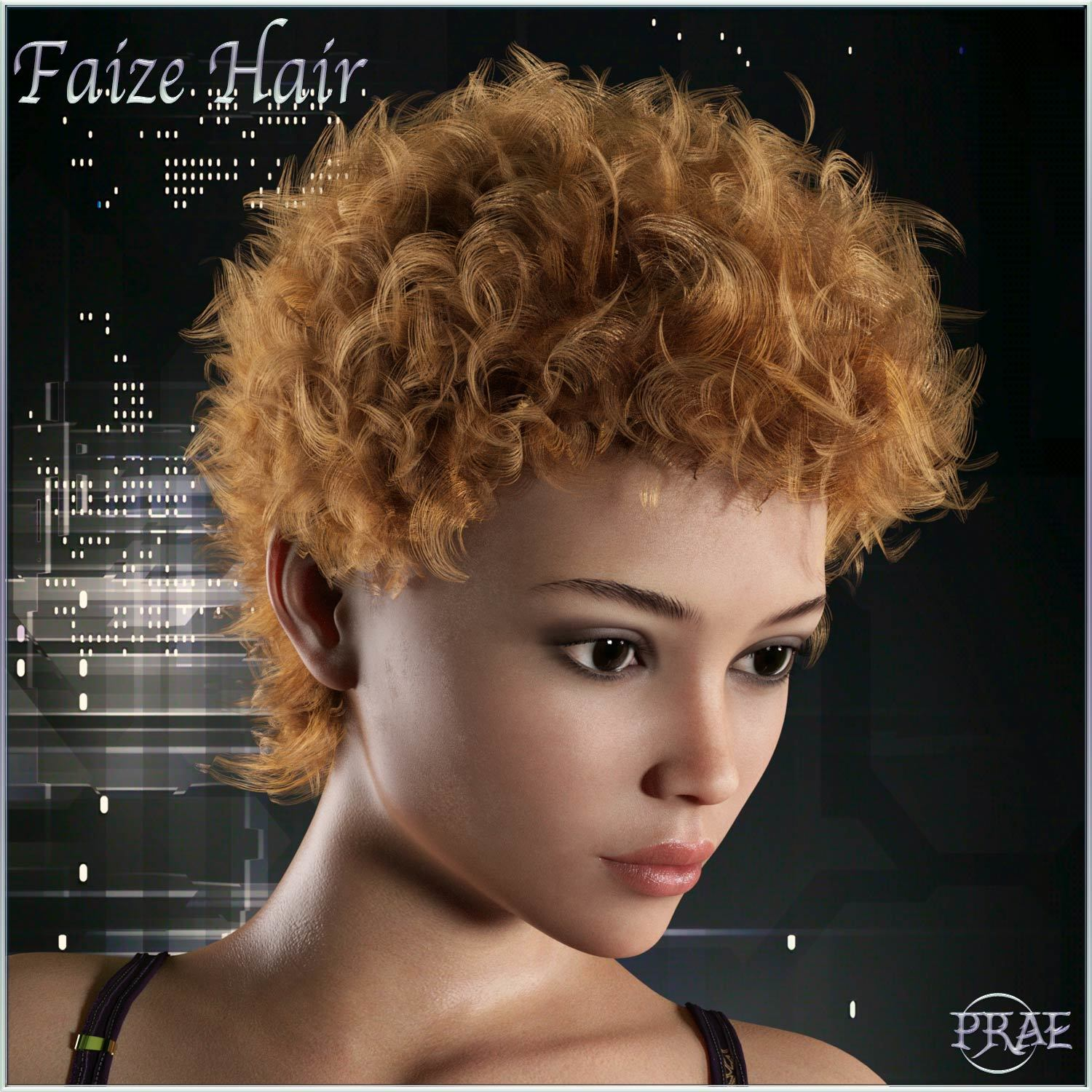 Prae-Faize Hair For G3/G8 Daz by prae