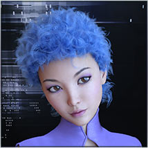 Prae-Faize Hair For G3/G8 Daz image 5
