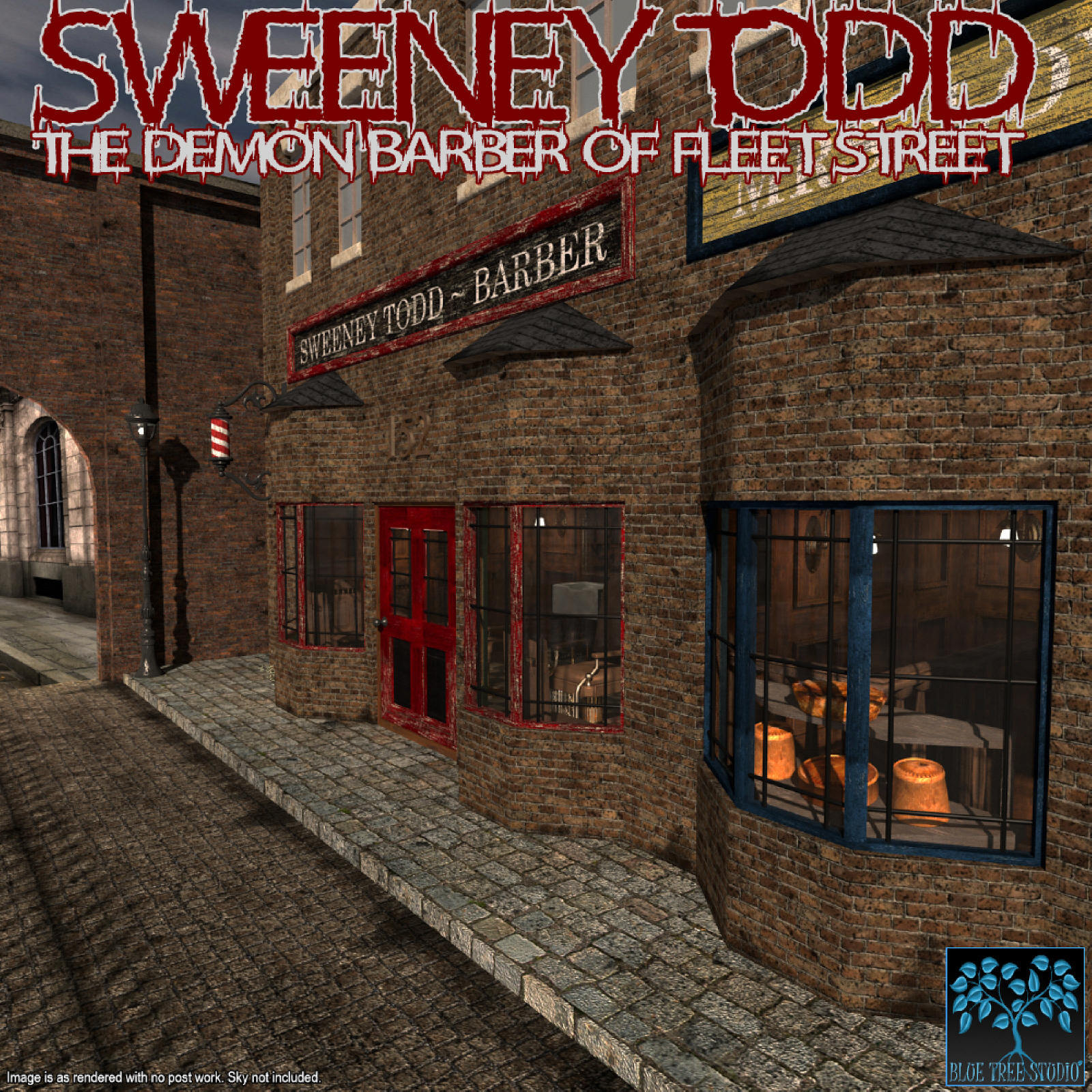 Sweeney Todd for Poser
