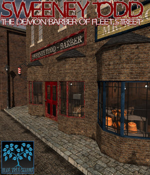 Sweeney Todd for Poser 3D Models BlueTreeStudio