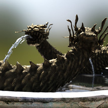 3D Scenery: Oriental Dragon Fountain image 10