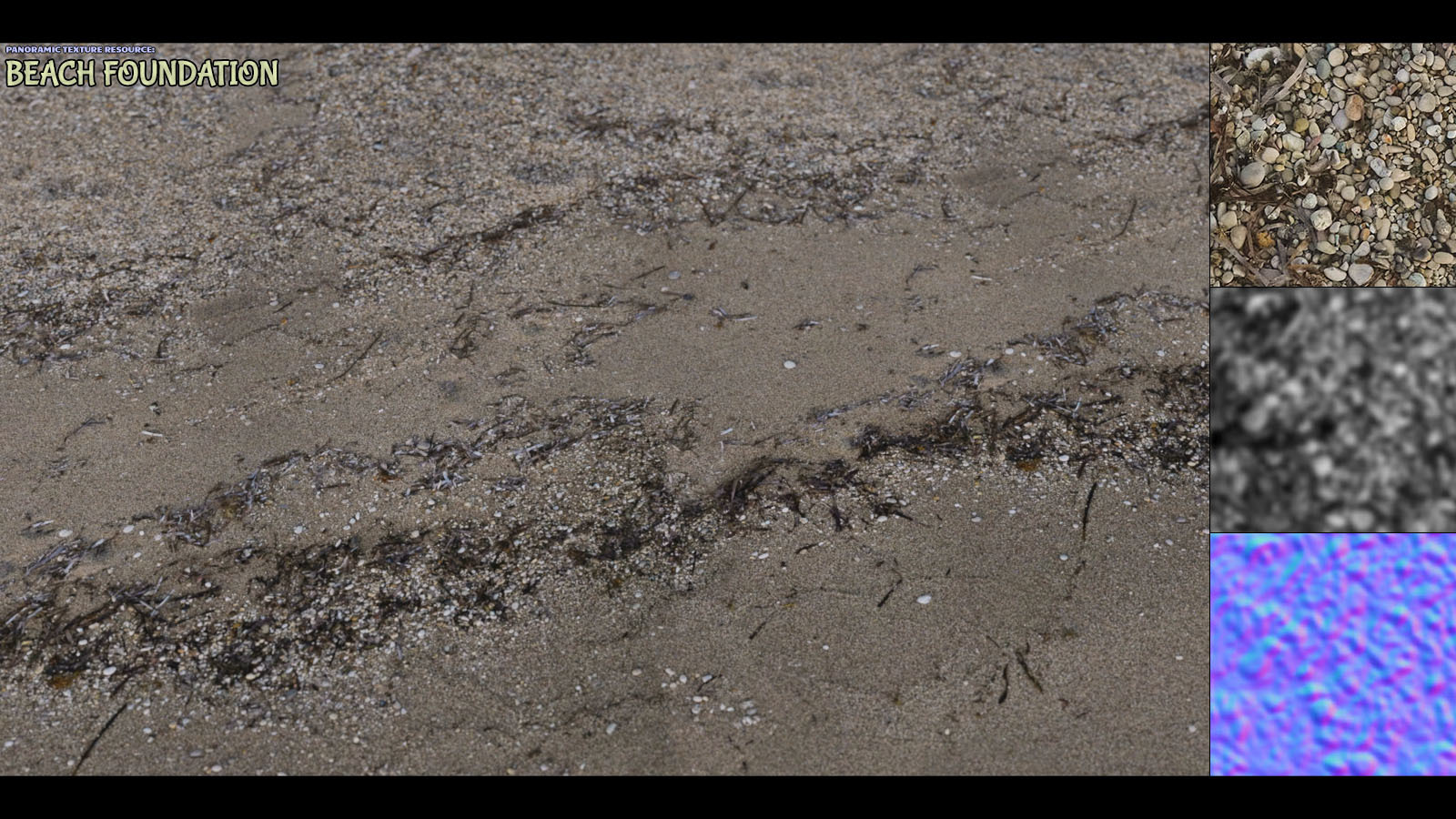 Panoramic Texture Resource: Beach Foundation by ShaaraMuse3D
