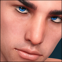 Twizted 100 Faces Males for Genesis 8 Males image 1
