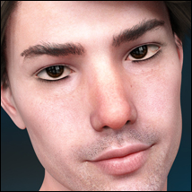 Twizted 100 Faces Males for Genesis 8 Males image 2