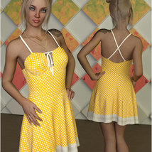 Sweetie For dForce Alika Candy Dress Outfit image 3
