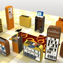 The Mall - Phone repair Kiosk - Extended License image 4