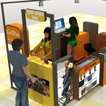 The Mall - Phone repair Kiosk - Extended License image 9