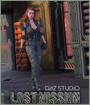 Lost Mission for DazStudio  3D Figure Assets 3D Models RPublishing