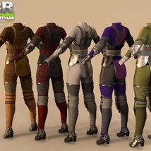 OOT PBR Texture Styles for Hounds Guard image 6