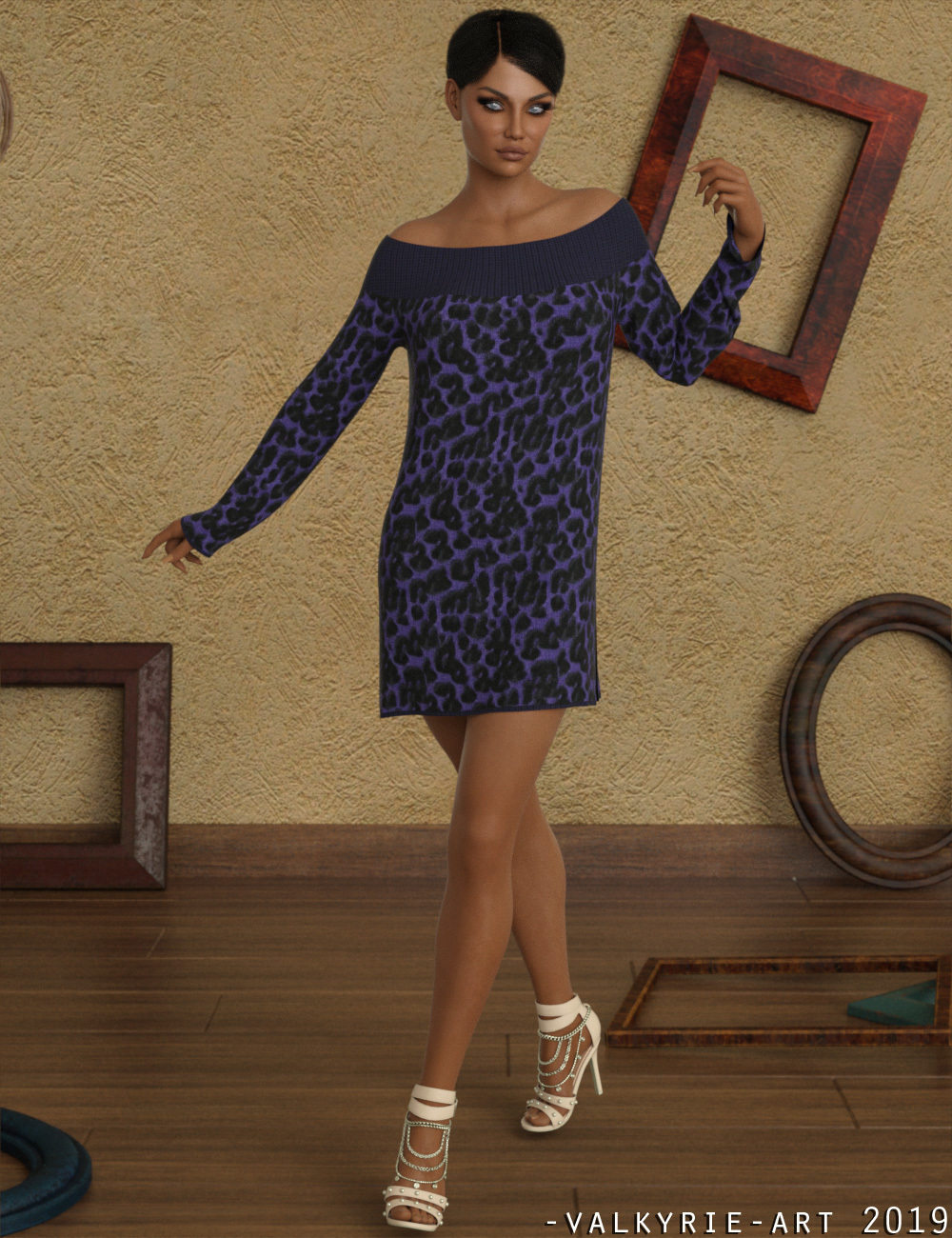 InStyle - dForce - Jump Dress for G8F by -Valkyrie-