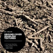 12 Ground Cover PBR Seamless Textures image 2