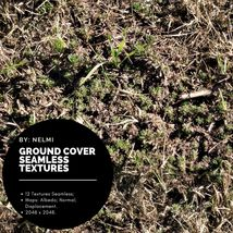12 Ground Cover PBR Seamless Textures image 4