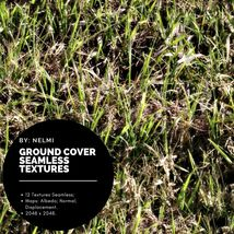 12 Ground Cover PBR Seamless Textures image 5