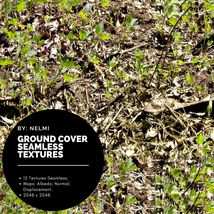 12 Ground Cover PBR Seamless Textures image 6