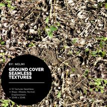 12 Ground Cover PBR Seamless Textures image 7