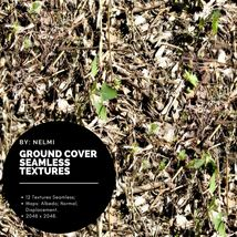 12 Ground Cover PBR Seamless Textures image 8
