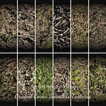 12 Ground Cover PBR Seamless Textures image 9