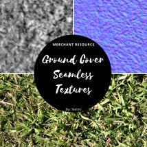 12 Ground Cover PBR Seamless Textures image 10