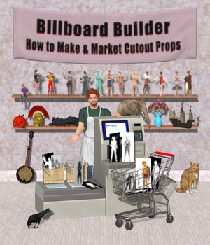 Billboard Builder Tutorial-Poser Tutorials : Learn 3D Don