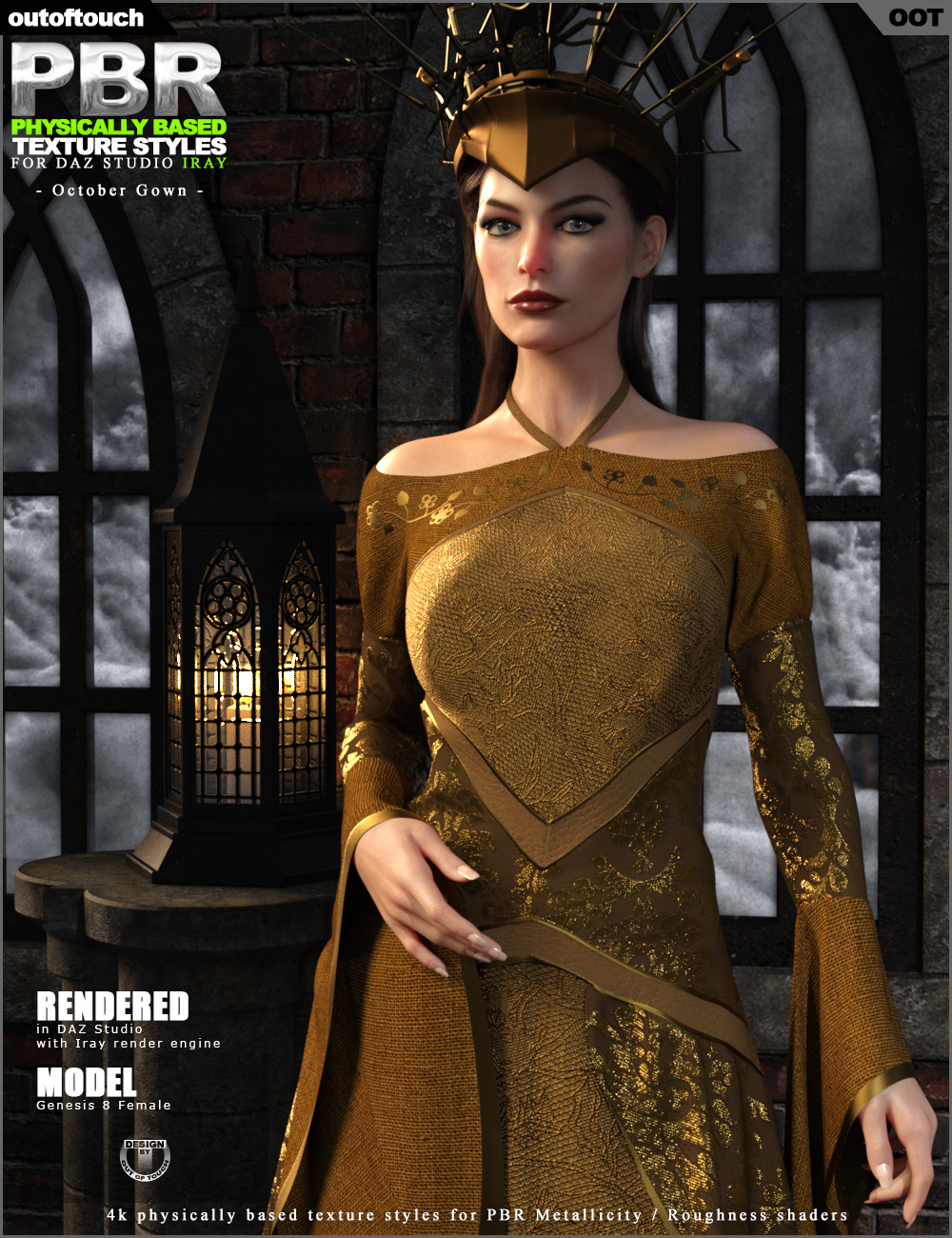 OOT PBR Texture Styles for October Gown