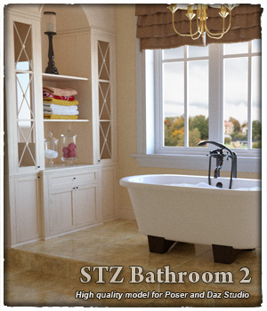 STZ Bathroom 2 3D Models santuziy78