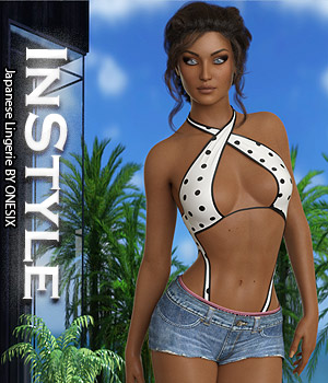 InStyle - Japanese Lingerie 3D Figure Assets -Valkyrie-