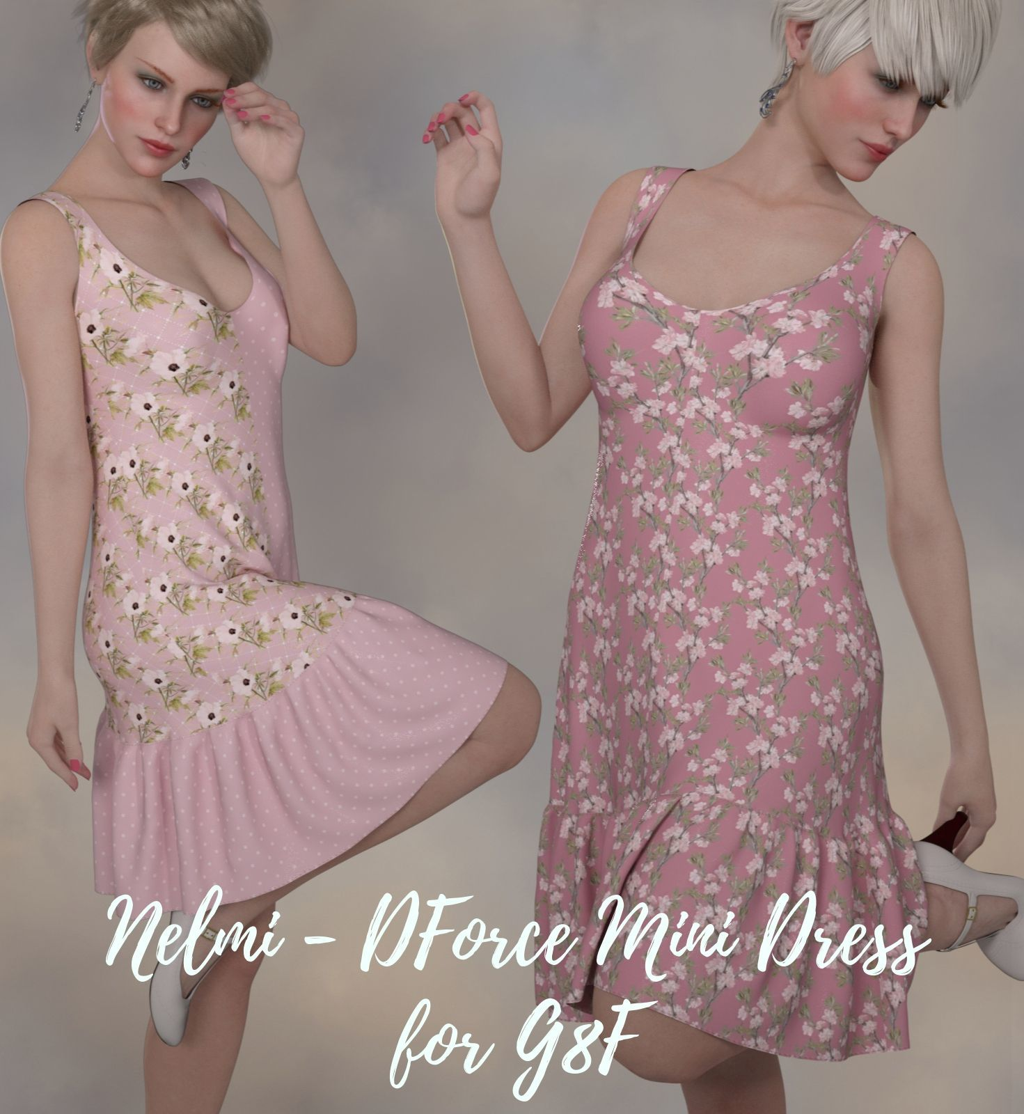 Nelmi - dForce Mini Dress G8F by nelmi