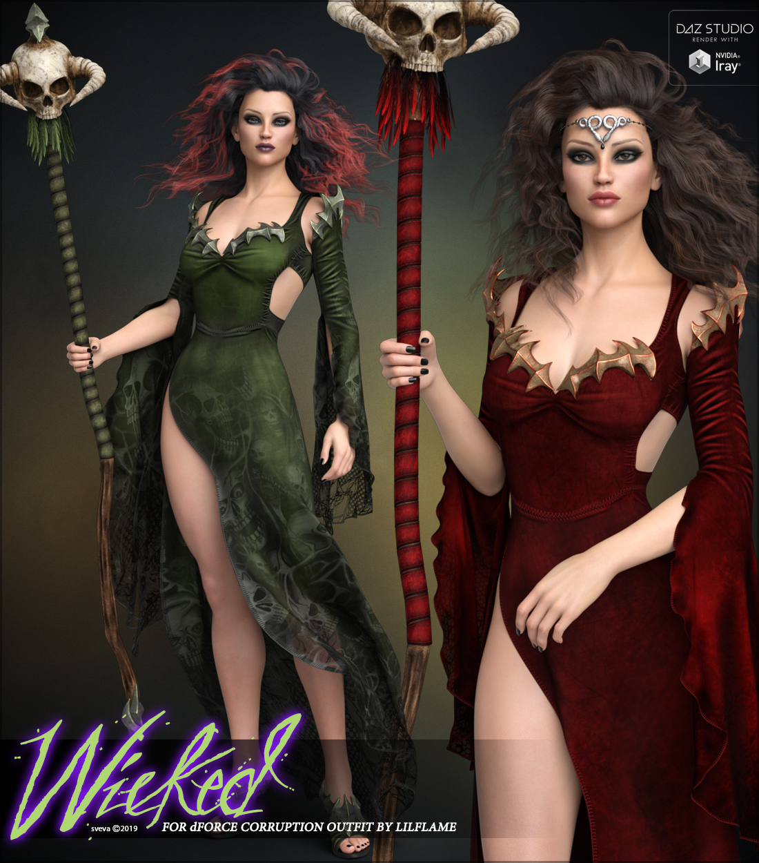Wicked for dForce Corruption G8F by Sveva