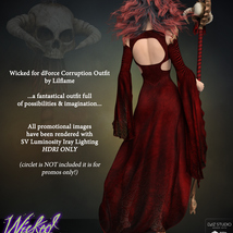 Wicked for dForce Corruption G8F image 6