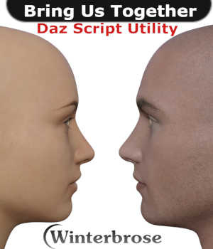 BRING US TOGETHER, Scripting Short for Daz Studio 4 2D Sofware and Utilities Winterbrose