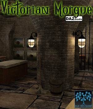 Victorian Morgue for Daz|Studio 3D Models BlueTreeStudio