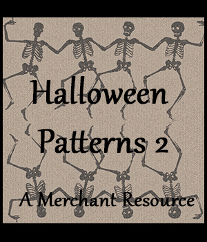 Seamless Halloween Patterns 2 2D Graphics Merchant Resources adarling97