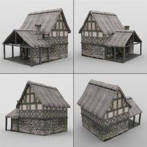 Middle Ages Buildings Set 1 for DAZ Studio image 2