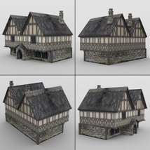 Middle Ages Buildings Set 1 for DAZ Studio image 4