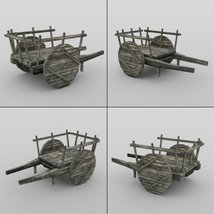 Middle Ages Buildings Set 1 for DAZ Studio image 6