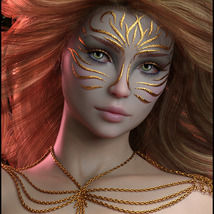 Painted Skin: Masks for G8F image 2