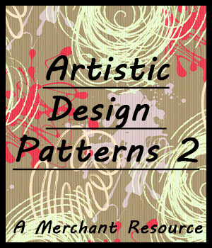 Seamless Artistic Patterns 2 2D Graphics Merchant Resources adarling97