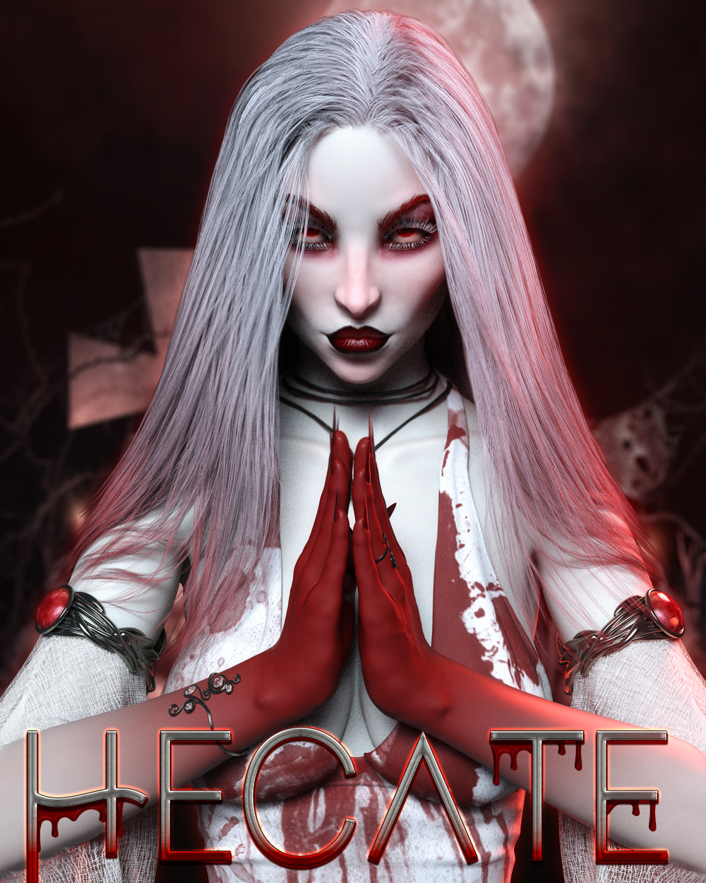 Hecate for Genesis 8 Female by TwiztedMetal