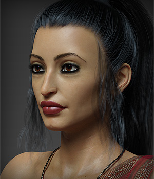Darika HD for Victoria 8 3D Figure Assets Anagord