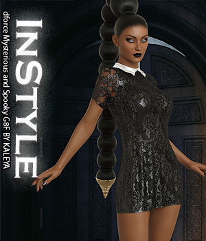 InStyle - dforce Mysterious and Spooky G8F 3D Figure Assets -Valkyrie-